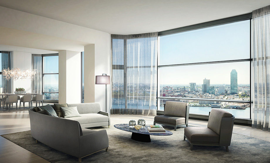 Luxury us properties the major fortunes in america have for Nicest apartments in nyc
